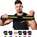1 пара Регулируемый ремень для тяжелой атлетики фитнес-тренажерного зала, Спортивная Повязка на запястье, повязка для поддержки рук, брасле...