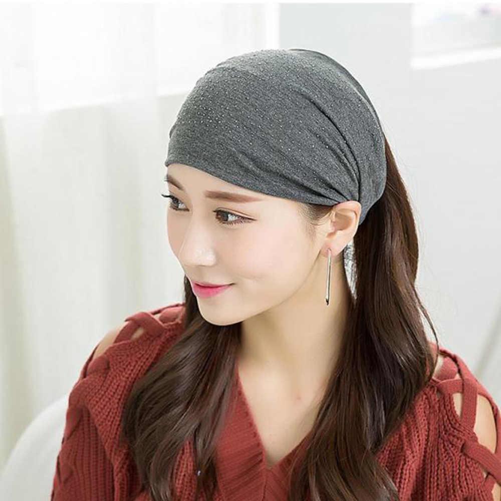 Rhinestone Headwear For Women Rhinestone Head Wrap Soft Headwrapscarf Headband