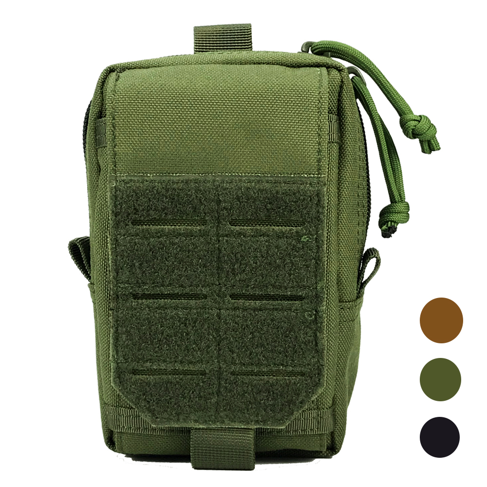 1000D Tactical Molle Pouch Military Waist Bag Outdoor Men EDC Tool Bag Vest Pack Purse Mobile Phone Bag Case Hunting Compact Bag