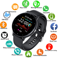LIGE 2021 Fashion Smart Watch Ladies Heart Rate Blood Pressure Multifunctional Sport Watch Men Woman Waterproof Smartwatch Women