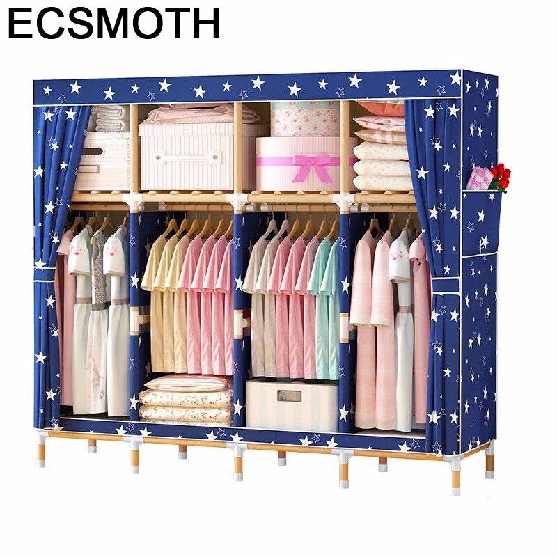 Meble Kleiderschrank Moveis Para Casa Penderie Dresser Rangement Chambre Mueble font b Closet b font Bedroom
