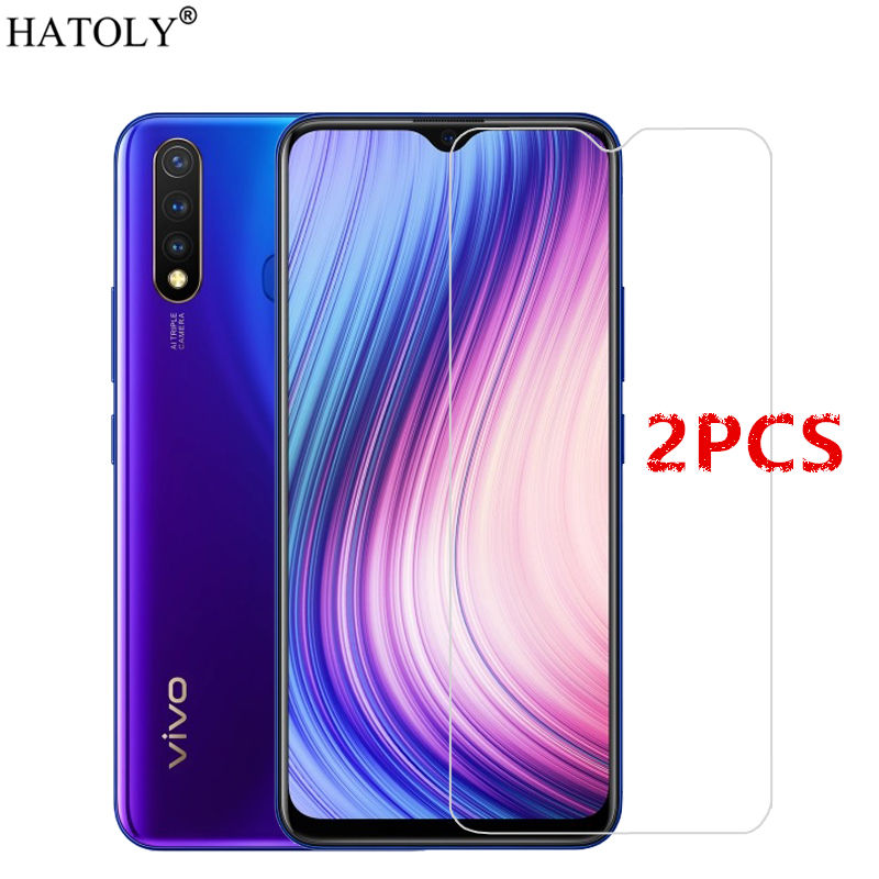2PCS For Vivo Y19 Glass For Vivo Y19 Tempered Glass Film 9H Full Glue Hard Phone Screen Protector Protective Glass For Vivo Y19