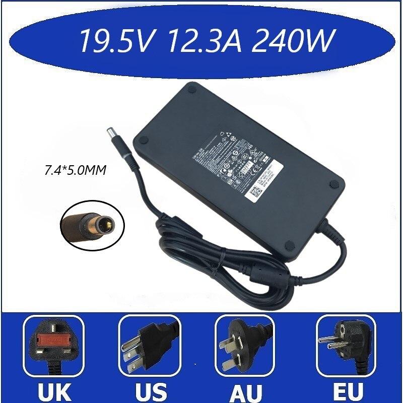 Оригинальный 19,5 V 12.3A 240W адаптер переменного тока ForD DELL Alienware M15x M17x Precision 17 7000 R3 PA-9E J211H J938H Y044M 42R4N 450-18934