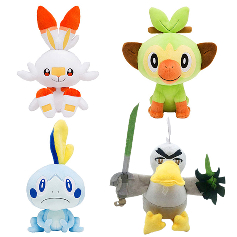 Sword Shield Sobble Scorbunny Grookey Yamper Zacian Zamazenta Cartoon Elf Figure Plush Cute Anime Stuffed Doll Gift For Kid Special Offer 4ce6 Cicig A wide variety of groovy options are available to you, such as appearance, folded, and gender. cicig