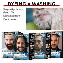 Moisturizing Beard-Dye Cream Lotion for 30ml--10/Set Black