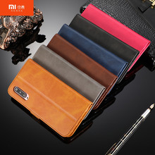 Original for xiaomi 9 case Luxury Case For mi 8 9se 6X S2 F1 redmi note 5 6 7Leather Flip Wallet Magnetic Cover With Card