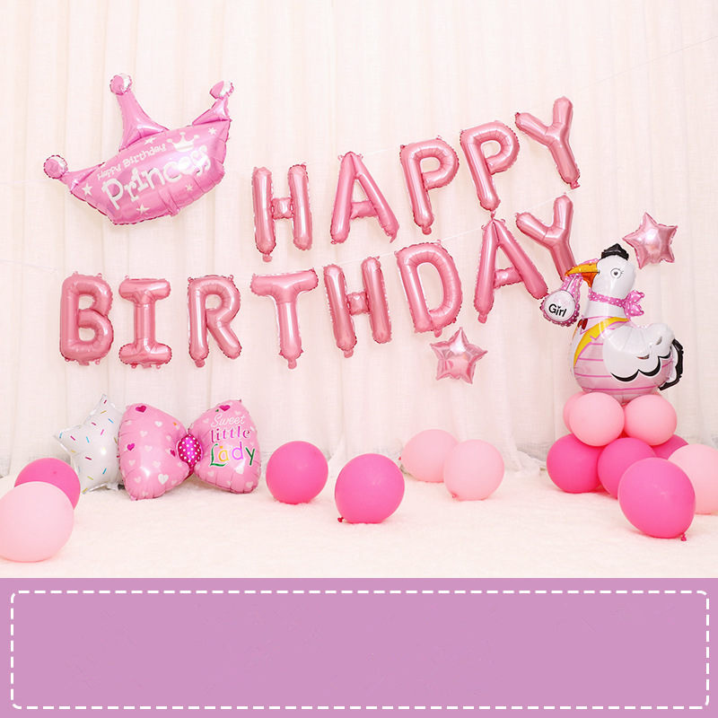 Baby Party Decorations Set The Unicorn Theme Birthday Party Baby Gift Kids Party Decorations
