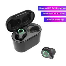 TWS R5 Binaural Wireless Earphones Bluetooth 50 Hifi 6D Stereo Surround Sound Touch Earphone Noise Reduction Cordless Headset