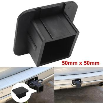 2 Inch Trailer Hitch Cover Plug Cap Rubber Fits Receivers For Toyota Jeep