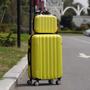 22''24/28 inch travel suitcase on spinner wheels rolling luggage set 20'' carry on cabin trolley luggage bag Women luggage set