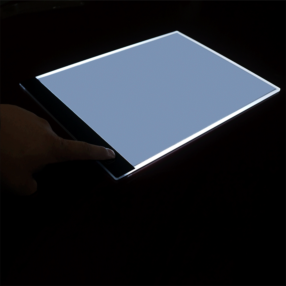 2020 New Dimmable Brightness LED Painting Drawing Board Digital Tablet Touch Copy Plate Light Tablet Art Stencil Copy Desk Draw