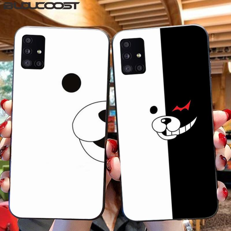 Riccu Danganronpa Monokuma Coque Shell Phone Case For Samsung A10 20 30 40 50 <font><b>70</b></font> 10S 20S 2 Core C8 A30S A50S A7 8 9 <font><b>2018</b></font> STAR image