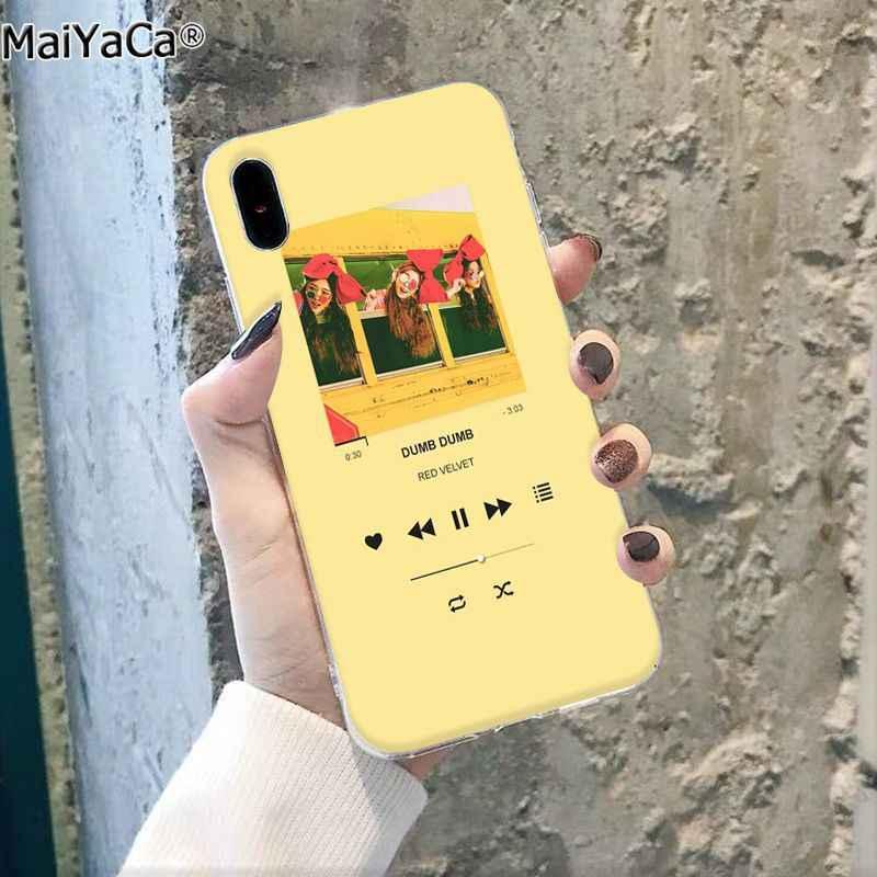 MaiYaCa ピンク音楽プレーヤー美的 DIY 印刷描画電話ケースアップル iphone 11 プロ 8 7 66S プラス X XS 最大 5S 、 SE XR