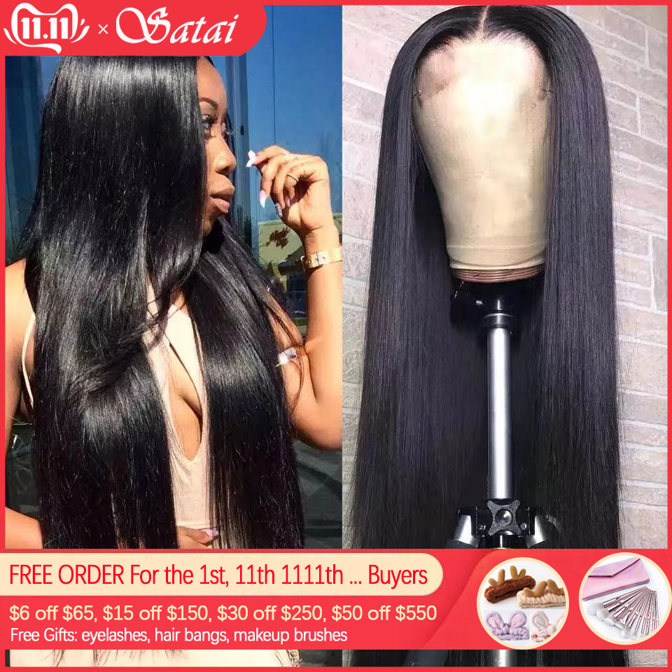 Lace Front Human Hair Wigs Peruvian Remy Hair 13x4/13x6 Lace Front Wig Human Hair Wigs Pre Plucked With Baby Hair 150% Density