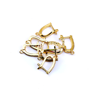 Image 2 - 10Pairs, Fashion Jewelry Accessories, Earring Clasps, 4colors, Can Wholesale