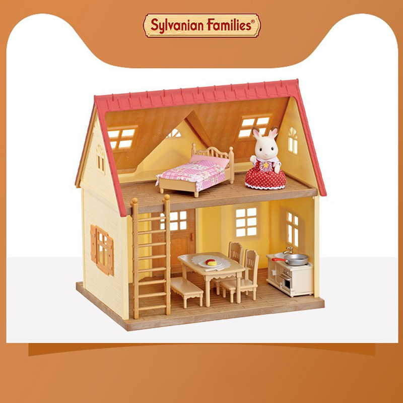 Sylvanian Families Toy Sweet Dream Cabin Sylvanian Families GIRL'S Play House Toys