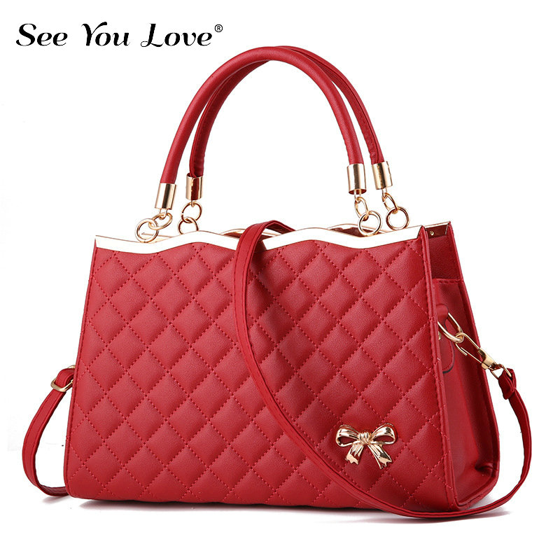 Image 5 - New Fashion Ladies Crossbody Bags For Women 2019 Plaid Flap Zipper Female Handbags  Luxury Brand Women Shoulder Messenger Bags-in Shoulder Bags from Luggage & Bags