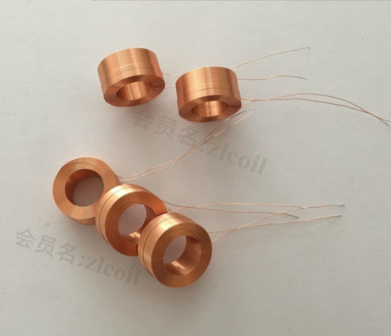 Hollow Self-adhesive Coil Test CoilElectric Toy Solenoid Valve Coil Electromagnetic Induction Coil Diameter 12mm