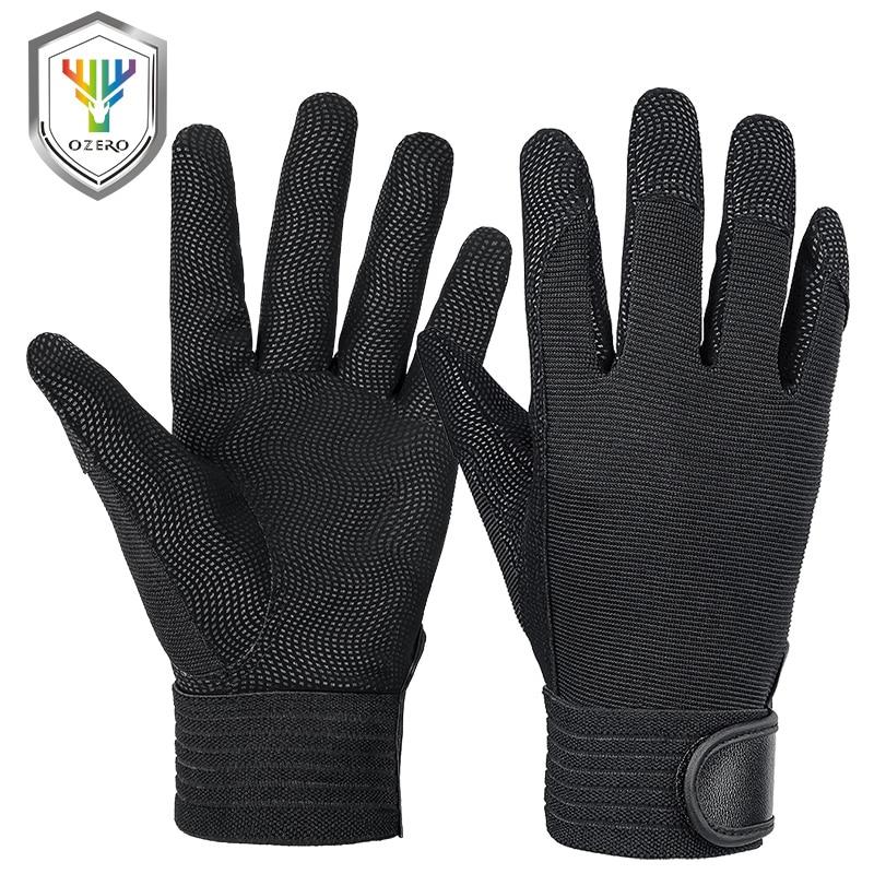 OZERO Mechanical Work Gloves Flex Extra Grip Unisex Working Welding Safety Protective Garden Sports Gloves For Work Glove 9047