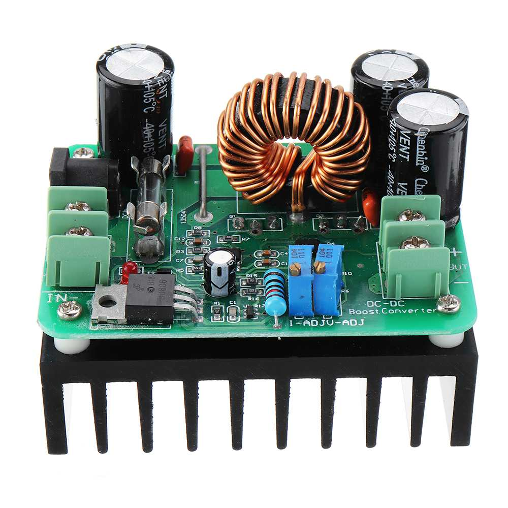 <font><b>DC</b></font>-<font><b>DC</b></font> 10-60V to 12-80V <font><b>600W</b></font> <font><b>10A</b></font> Boost Converter <font><b>Step</b></font> <font><b>Up</b></font> Voltage Regulator Power Supply Module Transformer Adjustable Output image