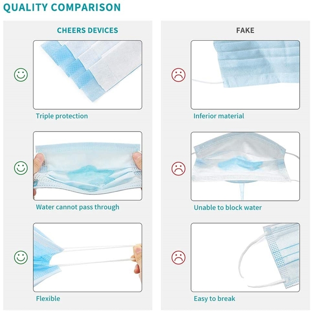 100pcs Disposable Protective Anti Flu Dust Pollution Mask Face Allergy Particulate Face Filter Air Purification 1