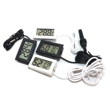 Мини цифровой ЖК термометр для дома удобный температура датчик влажность метр гигрометр манометр