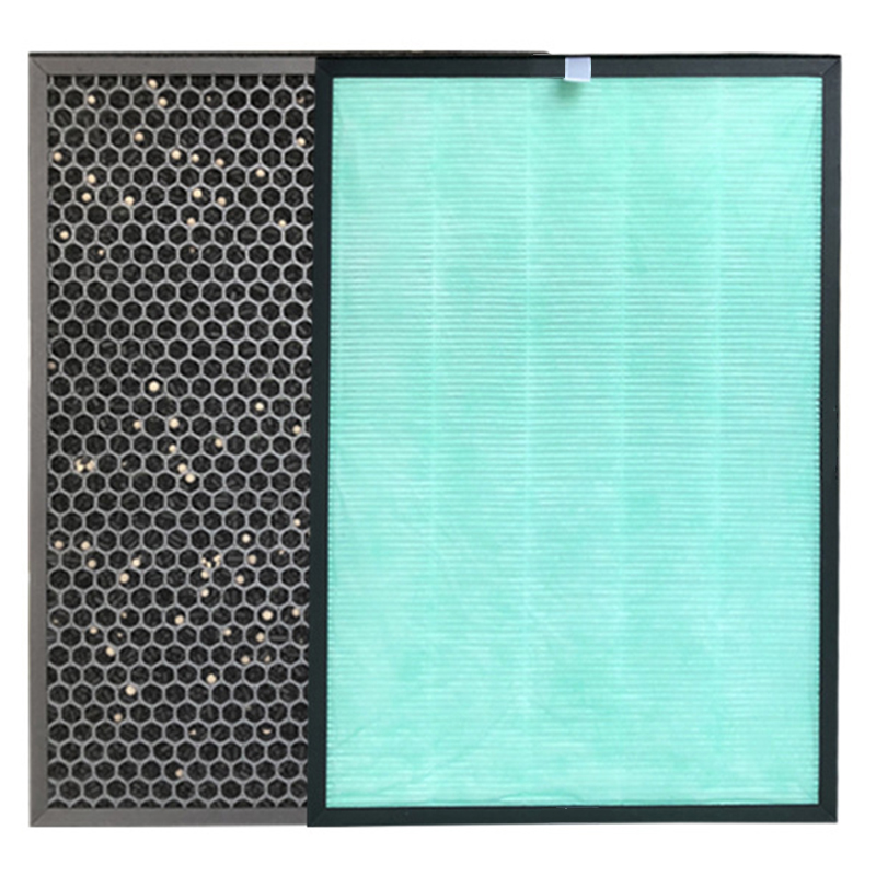 Replacement Activated Carbon Filter Reducing Dust Pollen Allergens Smog For SanYo ABC VW24 Air Purifier Parts