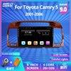 2Din Android 9.0 Radio samochodowe dla Toyota Camry 5 XV 30 2001-2006 samochodowy multimedialny odtwarzacz wideo nawigacja GPS Autoradio nr 2 Din DVD