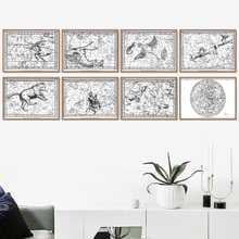 Abstract Animal Map Nordic Posters And Prints Wall Art Canvas Painting Abstract Wall Pictures For Living Room Bar Home Decor dean simonton keith the wiley handbook of genius