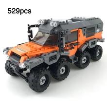 Mini Atoros Shaman Car Super Offroad Adventure All Terrain Vehicle Set compatible legoeinglys Building Blocks Toys Gift For Kids