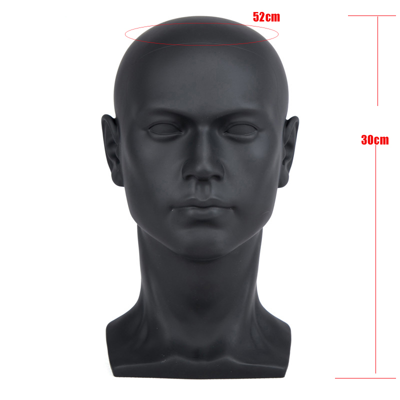 PVC bald wig making mannequin training head  wig stand for wig making display Hat Display Maniquin Head  training practice