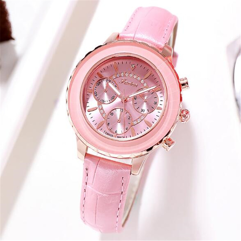 New Fashion Luxury Crystal Watch Women Waterproof Quartz Wristwatch Steel Exquisite Watch Ladies Female Watch