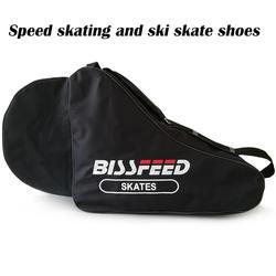 1 шт. треугольник Катание на коньках скорость роликовые коньки обувь сумка переносная сумка через плечо ремень нейлоновая сумка чехол для