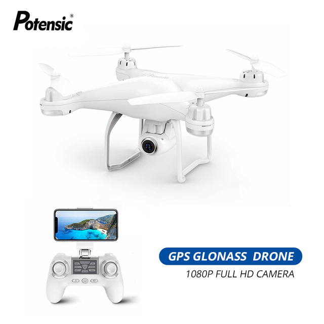 "Potensic T25 GPS Drone FPV 1080p HD מצלמה Profissional Wifi RC מל ""טים Selfie בצע לי Quadcopter GPS Glonass Quadrocopter"