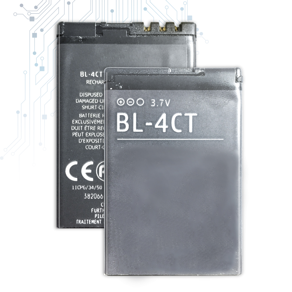 BL-4CT Replacement Battery For <font><b>Nokia</b></font> 5310 6700S X3 X3-00 7230 7310C 5630 2720 <font><b>2720A</b></font> 7210C 6600F BL4CT BL 4CT+Tracking Number image