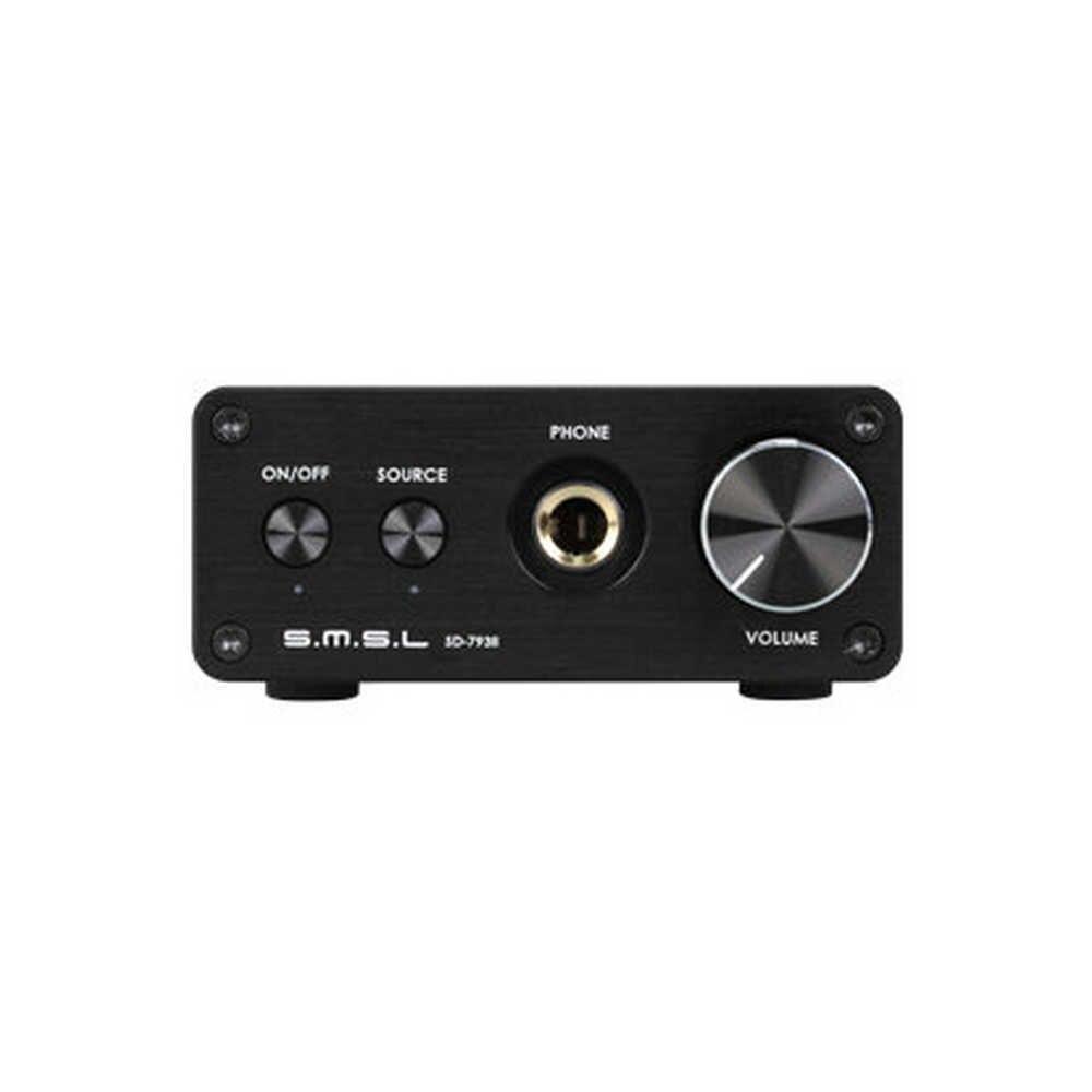 SMSL SD-793 II Audio optyczny koncentryczny DAC PCM1793 DIR9001 DAC cyfrowy dekoder Audio 24BIT 96KHZ wbudowany wzmacniacz słuchawkowy