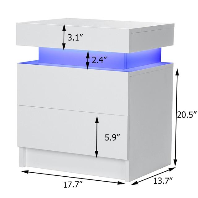 RGB LED Night Table Lighting Cabinet  5