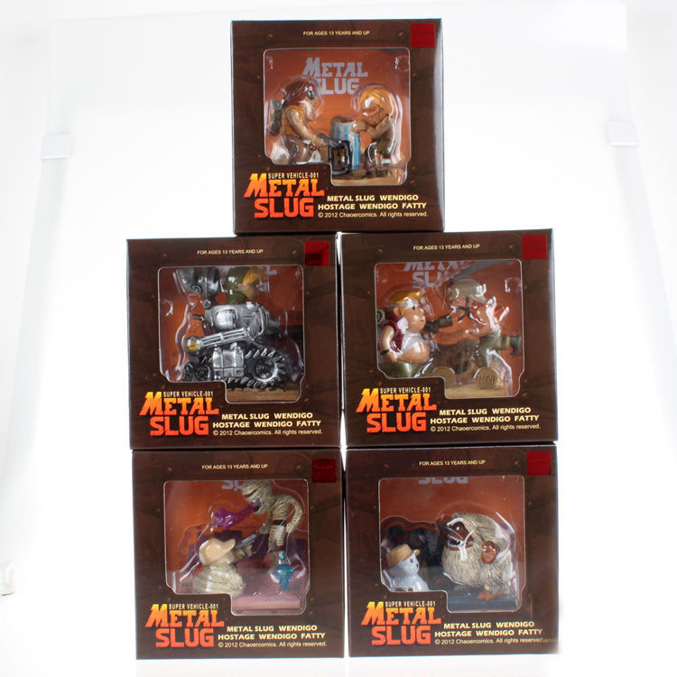 Vogue Classic Japan Arcade Game Metal Slug Hostage Wendigo Metal Slug Fatty Mummy Model Figurine Figure Toys