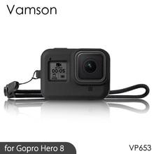 Vamso for GoPro Hero 8 Black Accessories Case Protective Silicone Case Skin for GoPro
