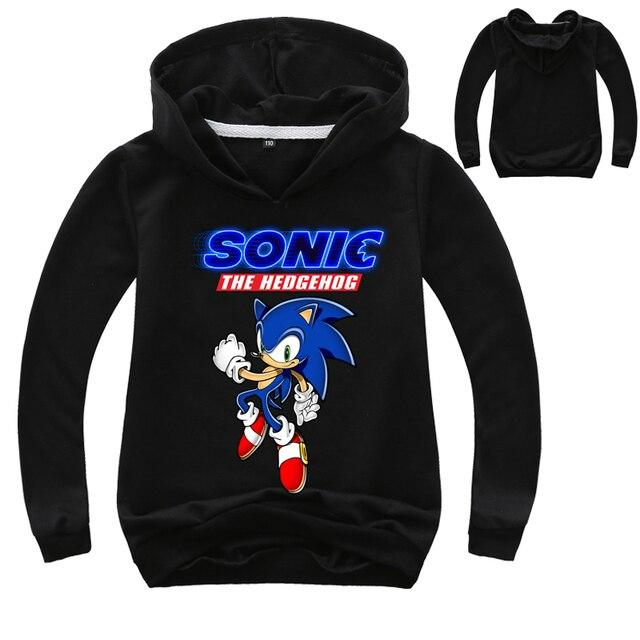 Fashion Sonic The Hedgehog Hoodies Kids 3d Hoodie Coat Boys Sweatshirts Pullovers Outerwear Hoodie Girls Jacket Streetwear Hoody Hoodies Sweatshirts Aliexpress