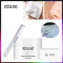 רוזלינד פנים מסכות מפני שחור נקודות חטט להסיר קמטים אקנה האף קילוף מסכת פנים הרמת קרם עור טיפול
