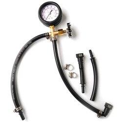 Hızlı Bağlantılı yakıt enjeksiyon pompası Basınç Test Ölçer Vana ile 0-100PSI