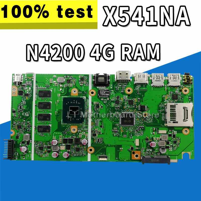 Placa base X541NA N3350 para placa base de ordenador portátil For Asus X541NA X541NA placa base X541NA 100% de prueba OK