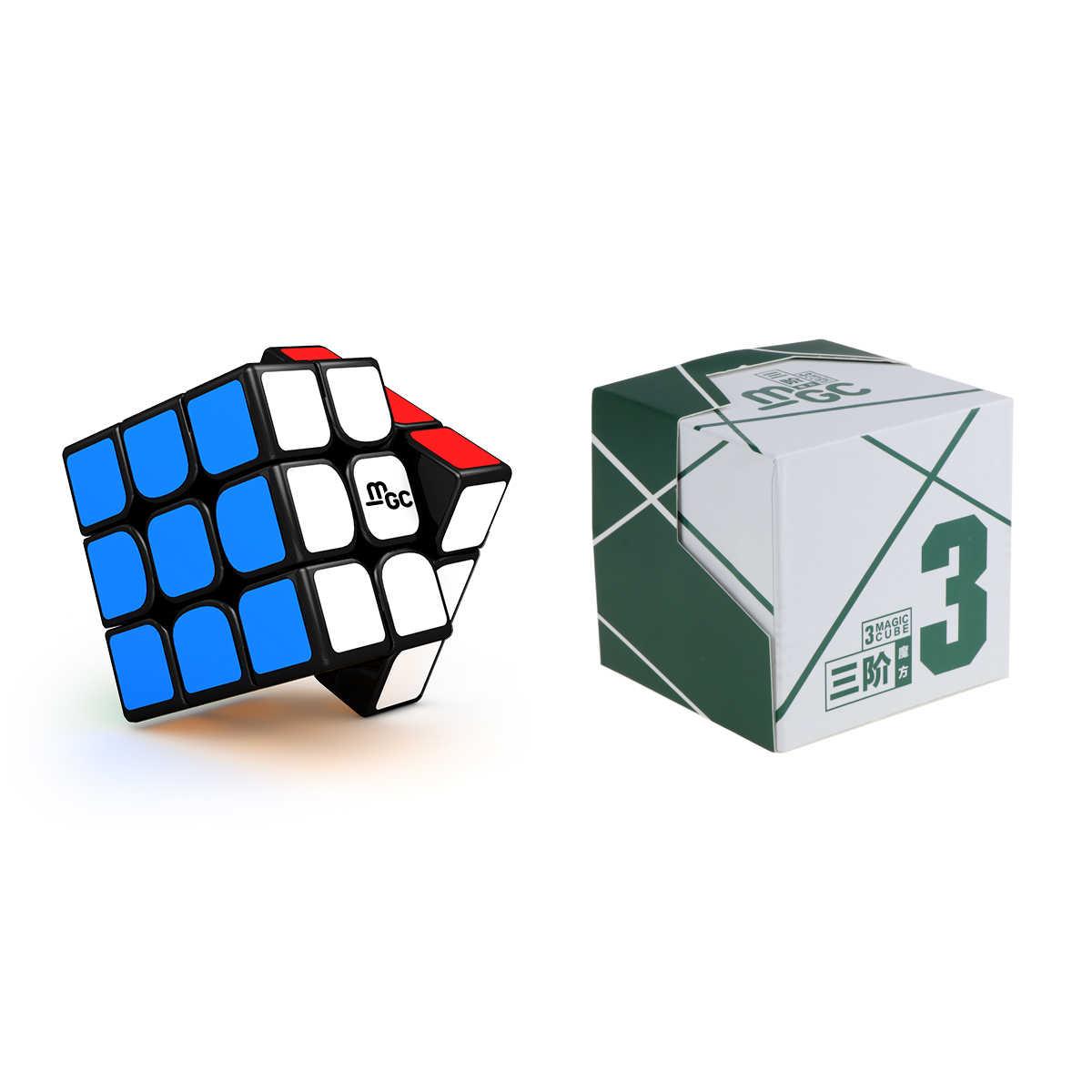 Лидер продаж оригинальный Yj Yongjun MGC M 3x3x3 2x2x2 Магнитный 2x2 MGC3 II V2 3x3 скоростной магический куб профессиональные скрученные развивающие игрушки