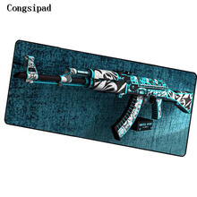 Congsipad Shop CS GO Locking Edge Large Gaming Mouse Pad Pad for PC Computer Laptop