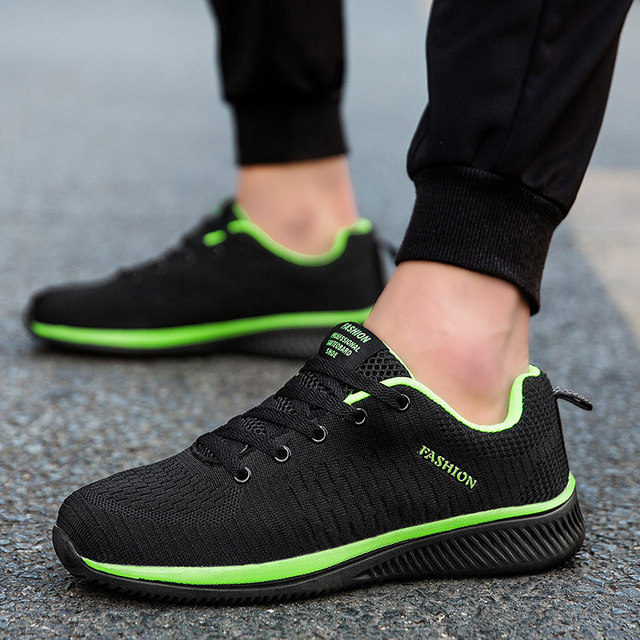 Men Sneakers Fashion Men Casual Shoes Breathable Men Shoes Walking Sneakers Men's Tennis Black Tenis Masculino Zapatillas Hombre 3