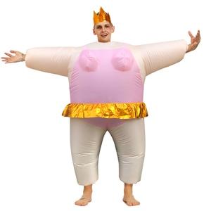 Image 5 - ホットコスプレアヒルインフレータブル衣装に浴槽お風呂と外出水泳素敵なファンシードレス興味深い大人のための男