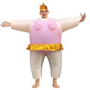 Image 5 - Gorący Cosplay kaczka nadmuchiwany kostium jeździć na wannie wyjść z kąpielą pływanie piękne przebranie dla interesującego dorosłego mężczyzny