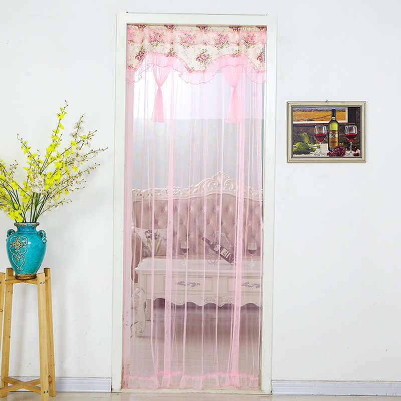 curtain mesh door screen door magnetic mosquito net summer anti mosquito ventilation magic mesh curtains roll door home bedroom