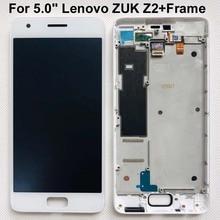 "Getest Originele Voor 5.0 ""Lenovo Zuk Z2 Lcd Touch Screen Digitizer Vergadering Voor Lenovo Zuk Z2 Vervangende Onderdelen + Frame"